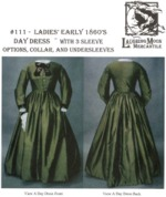 Laughing Moon #111 - Ladies' Early 1860's Day Dress