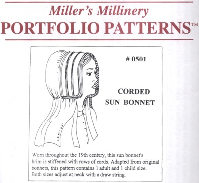 Pioneer Girls Bonnet Pattern - Mobile Resources - Latest