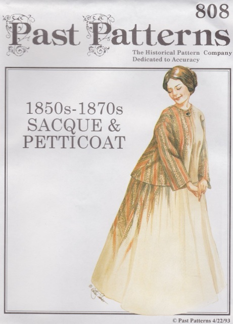 Late Victorian Women\'s Patterns - Early Bustle Period 1869-1876