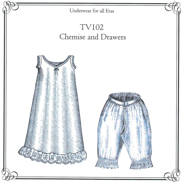 Old Time Patterns Truly Victorian 102 1885 Chemise And Drawers