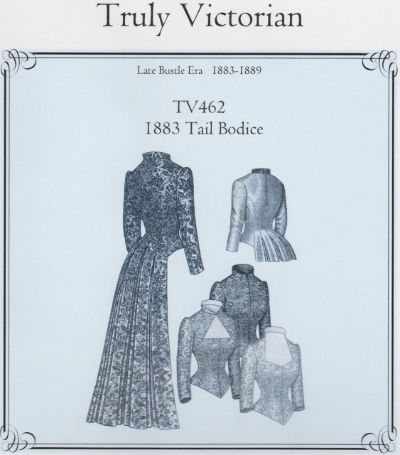 Late Victorian Women\'s Patterns - Late Bustle Period 1883-1889