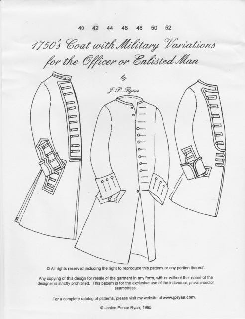 Colonial Mens\' Patterns
